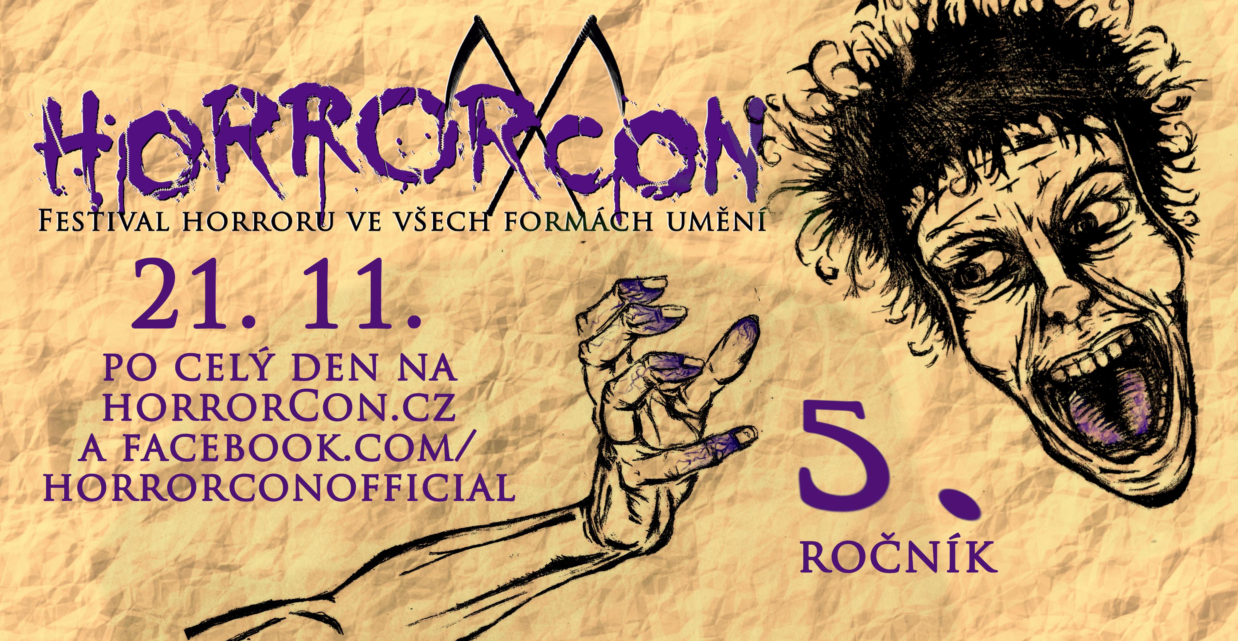 5. HorrorCon bude letos netradiční